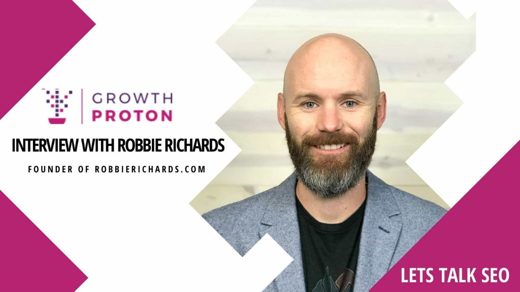 Interview With Robbie Richards