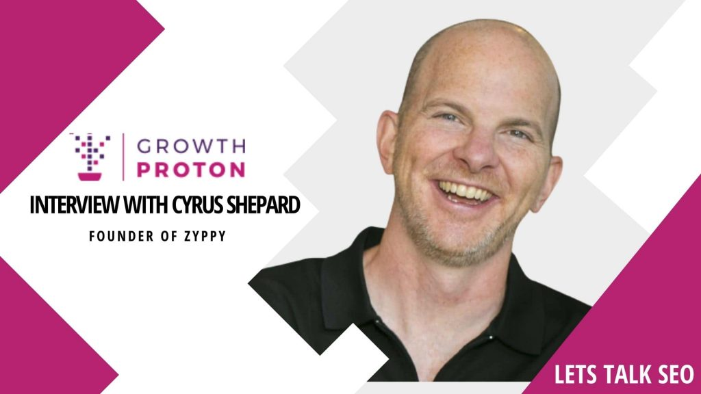Interview With Cyrus Shepard